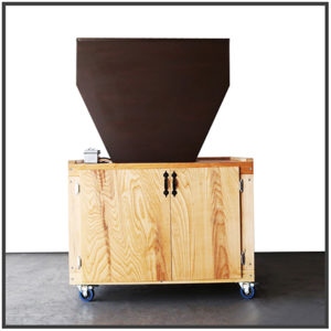 6 inch malt mill used for all grain brewing
